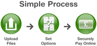 Simple Process Info Graphic
